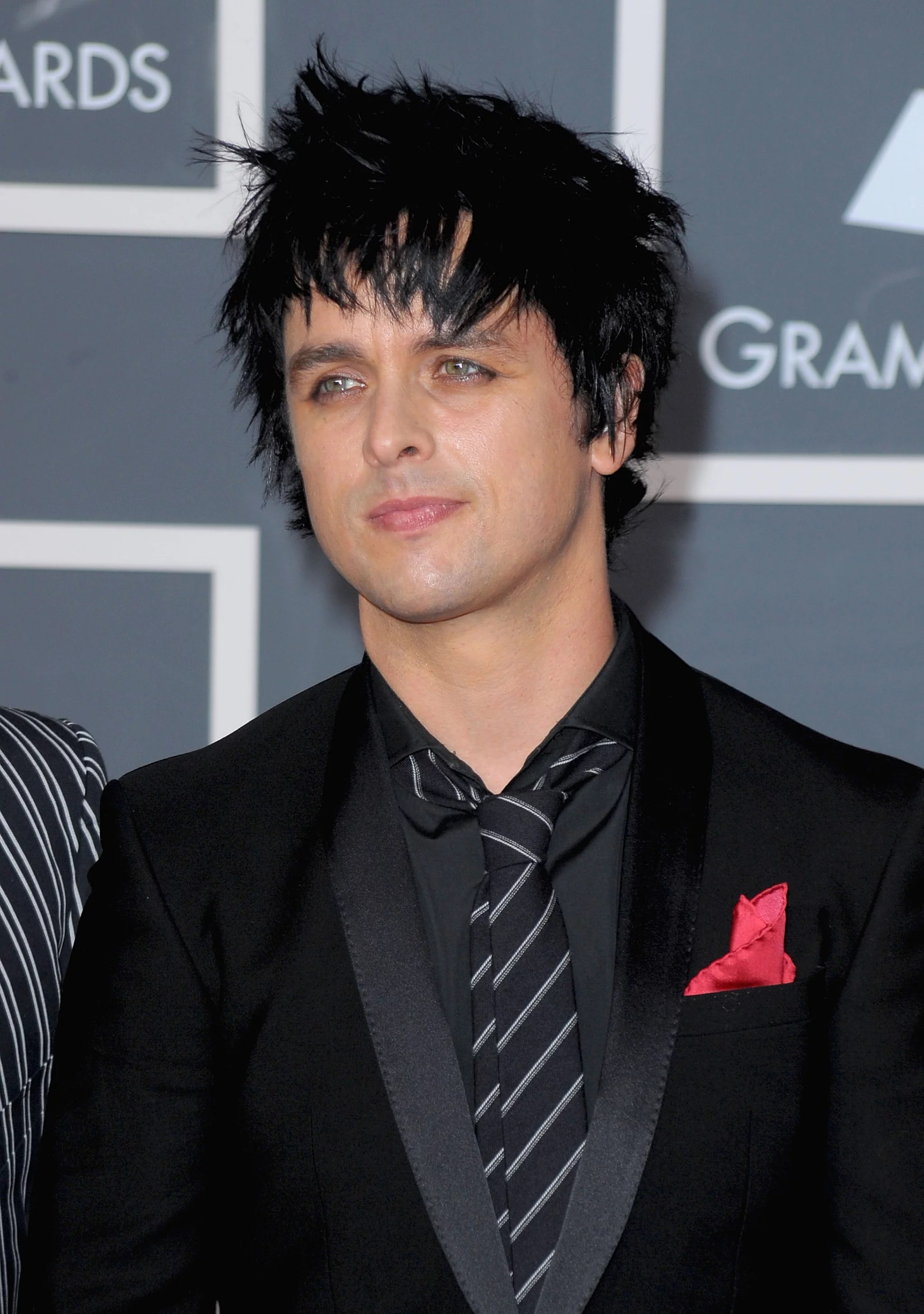 Billy Joe Armstrong 2014 Grammy Red Carpet