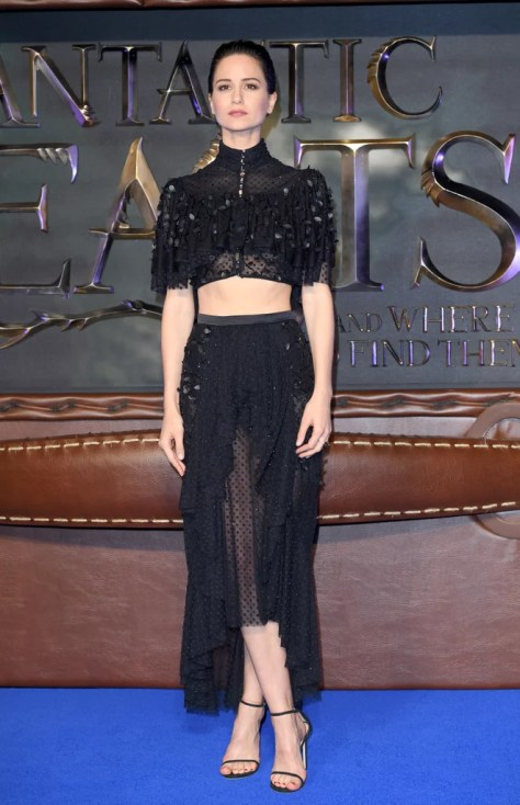 Katherine Waterston Wearing Rodarte