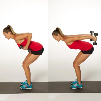 Rid of Lower Back Fat