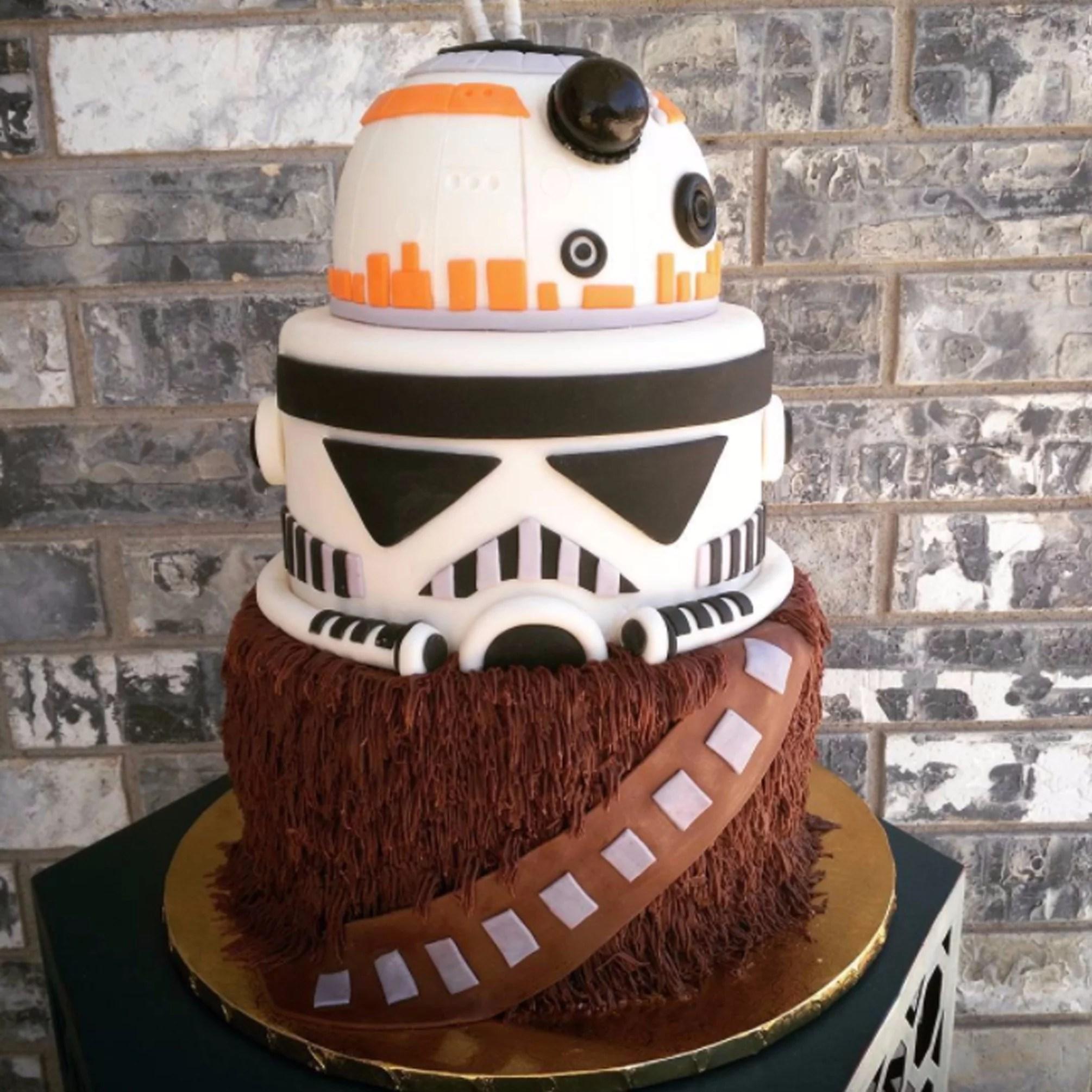 Star Wars Birthday Cakes Popsugar Family