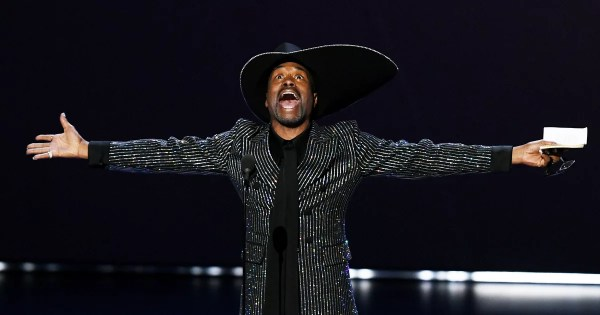 "Billy Porter Scores Historic Emmy Win: ""The Category Is Love, Y"