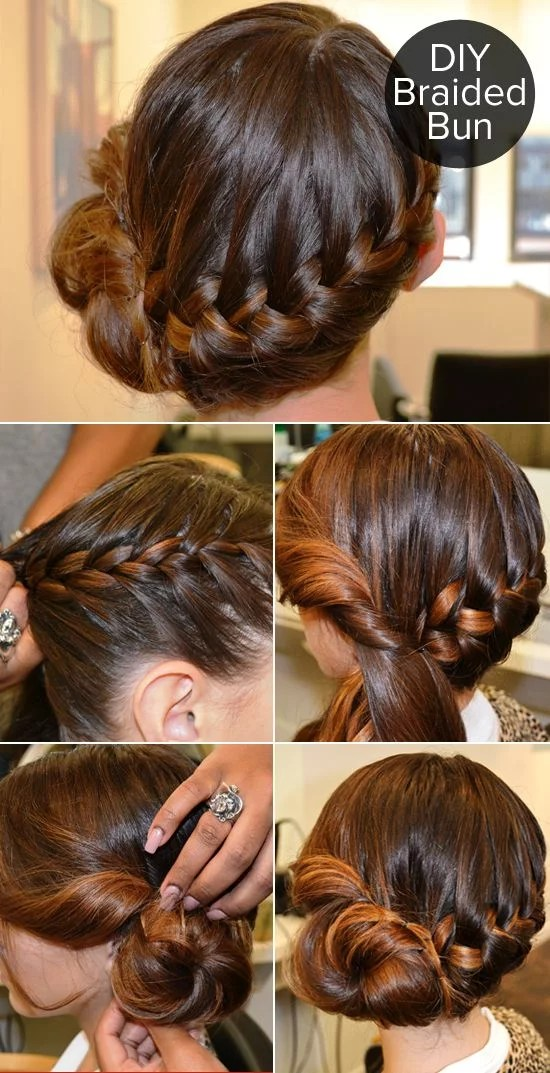 This Braided Bun Tutorial Got A Lot Of Action On Pinterest
