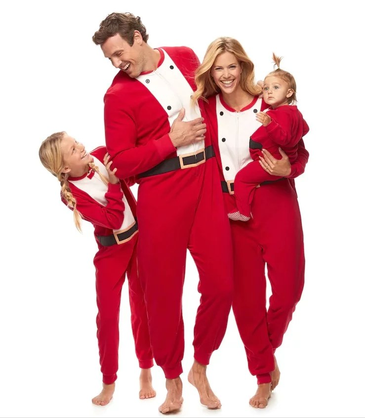 7 sets of matching family pajamas all at kohls