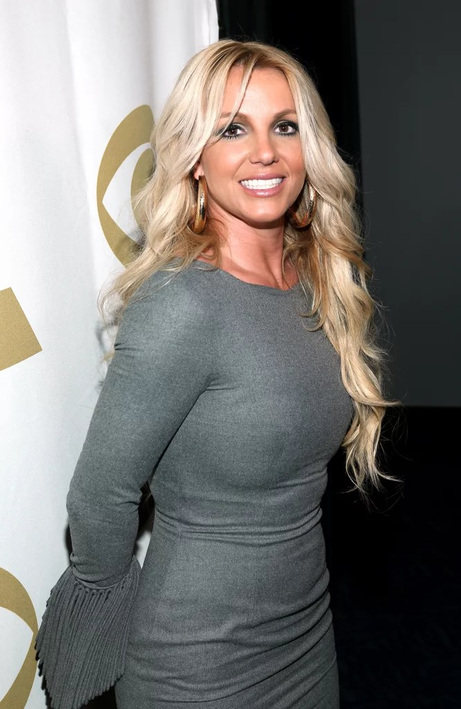 Britney Spears Posed For Photos At The We Will Always