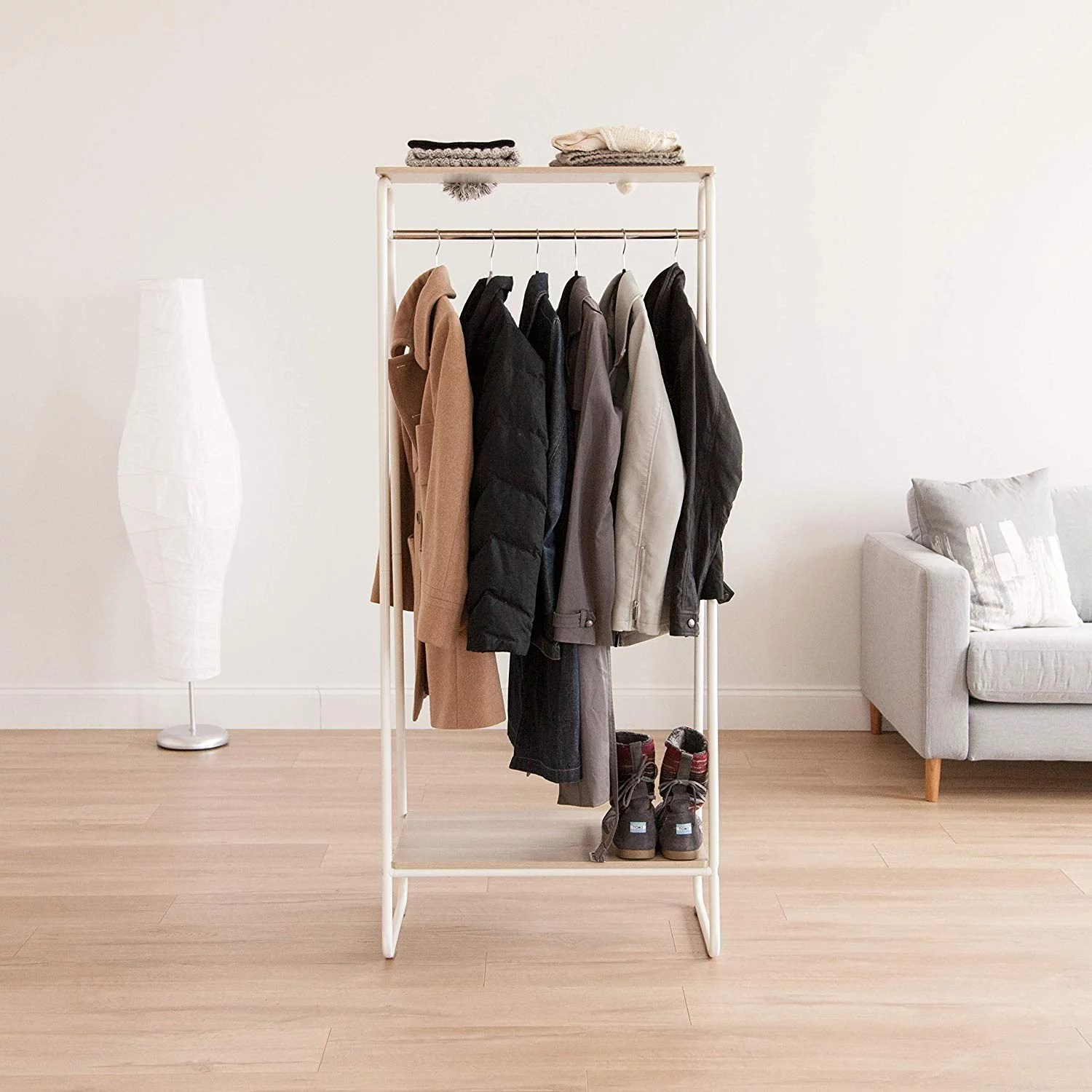 best cheap and stylish clothing rack on