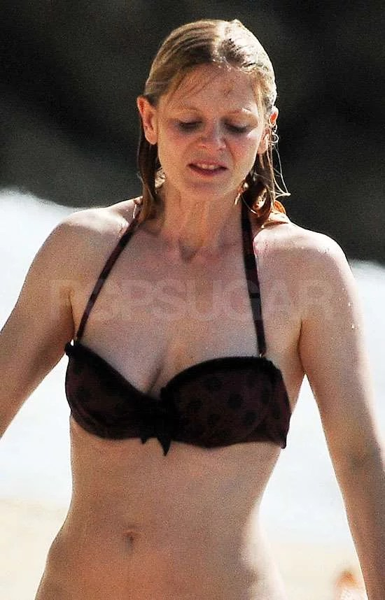 Pictures Of Emilia Fox In Bikini Two Months After Giving