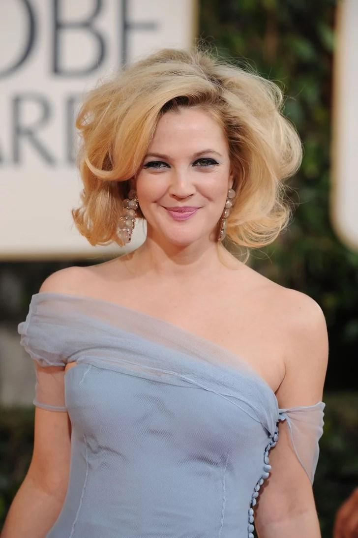 Drew Barrymore Celebrities Inspired By Marilyn Monroe