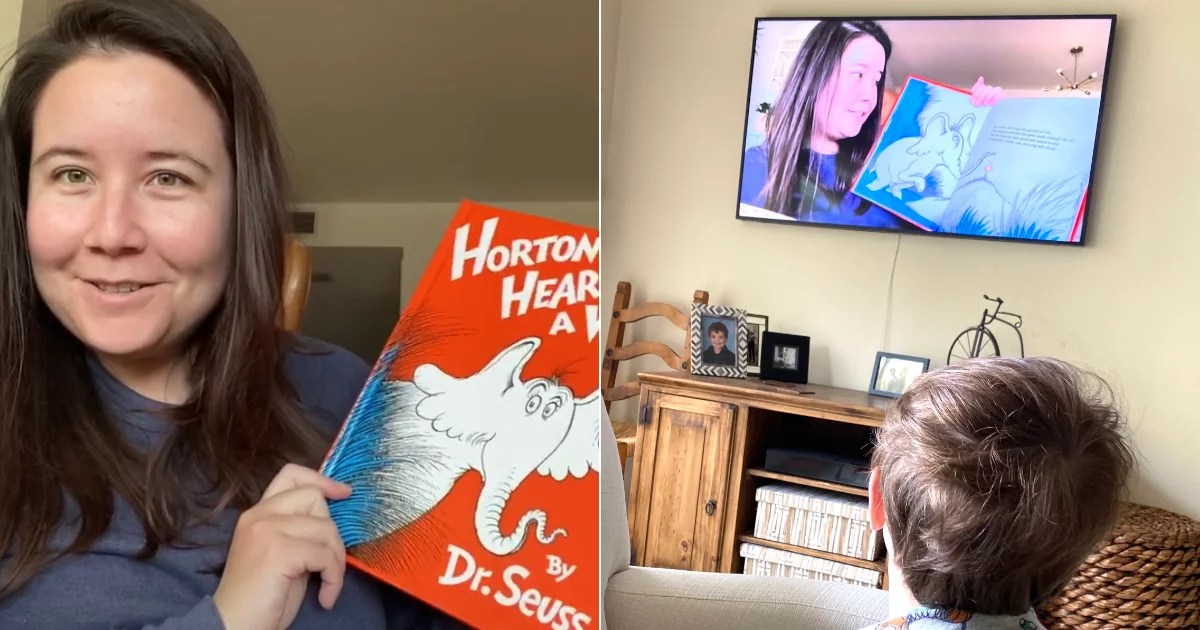 I Asked Friends to Film Themselves Reading, and Now Story Time Is a Bright Spot For My Son
