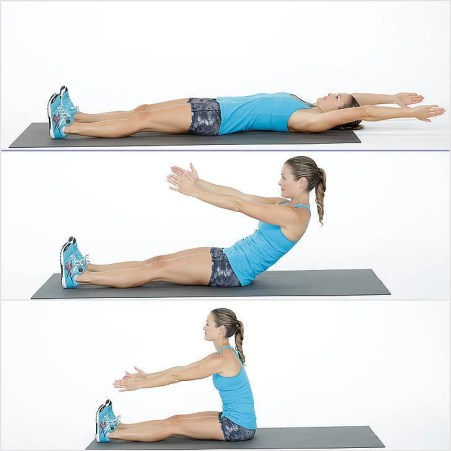 30 DAYS ABS WORKOUT CHALLENGE AT HOME