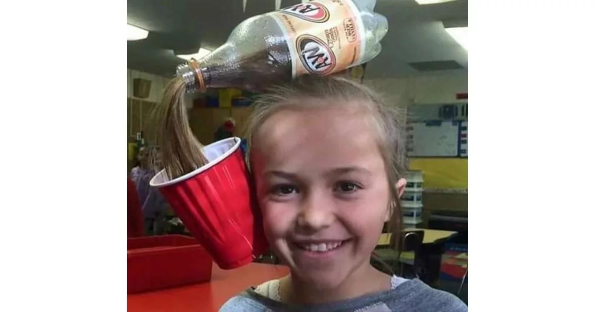 A Cup Of Soda Crazy Hair Day Ideas POPSUGAR Moms Photo 7
