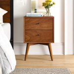 Parocela 2 Drawer Nightstand I M Giving My Bedroom A Makeover And These Are The 30 Things I Love From Wayfair Popsugar Home Photo 6