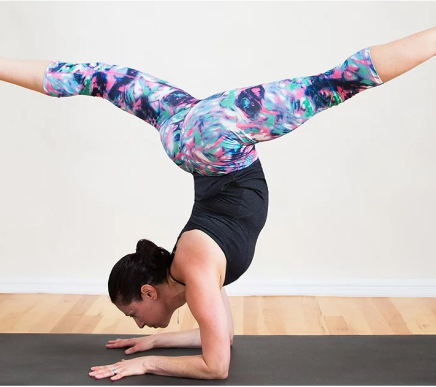 How To Do A Forearm Stand In Yoga Popsugar Fitness
