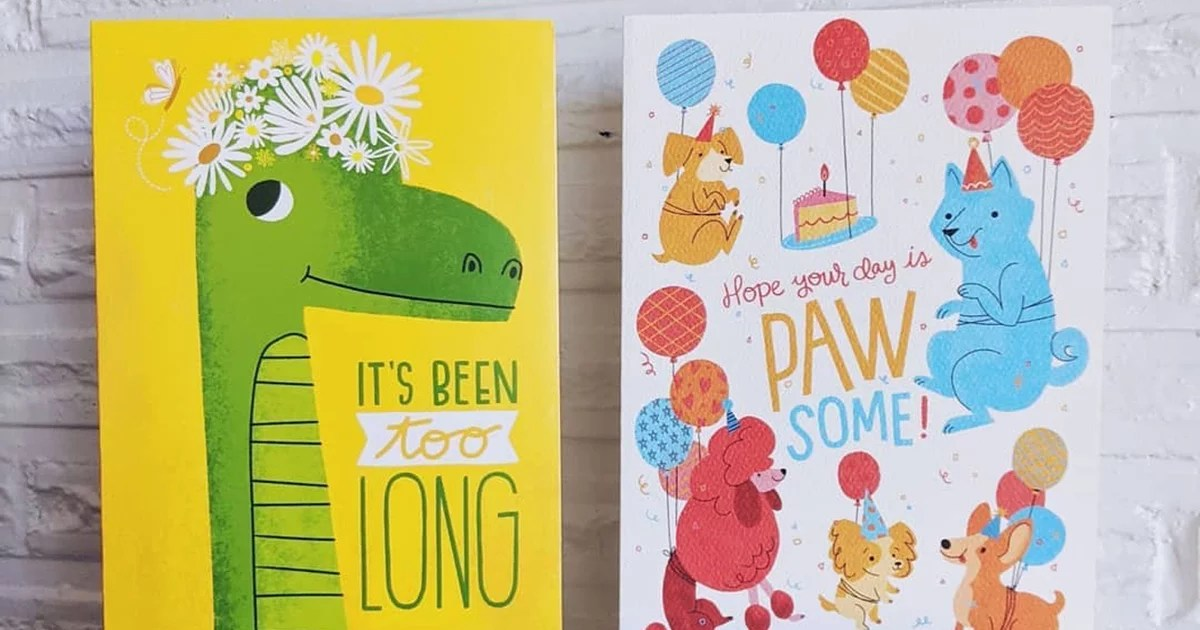 From Now On, We're Only Buying Greeting Cards From Trader Joe's They're Just 99 Cents!