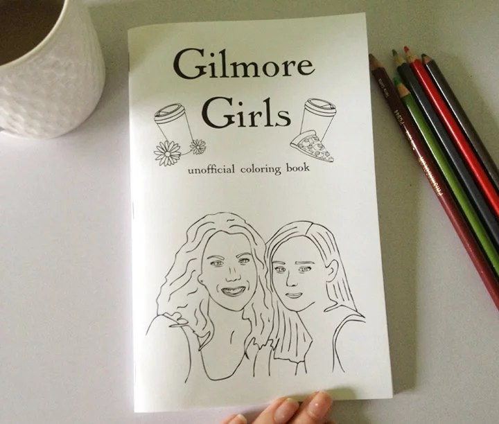 Gilmore Girls Coloring Book 7 Gilmore Girls Gifts