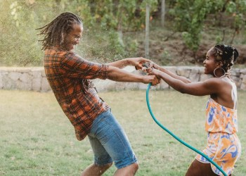 An Impromptu Water Balloon Fight Helped Revive My Marriage During COVID-19
