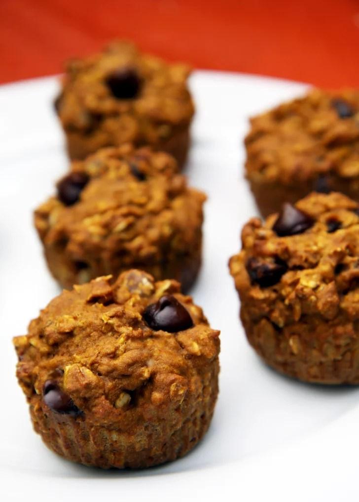 Healthy Recipe Oatmeal Dark Chocolate Chip Pumpkin