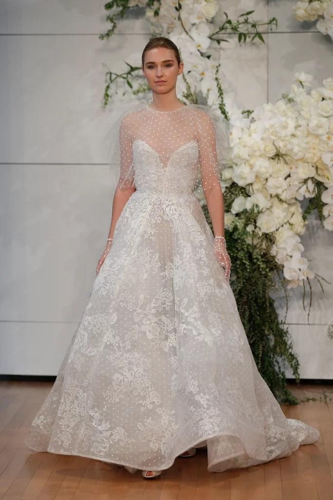Monique Lhuillier Spring 2018 Wedding Dress Trends