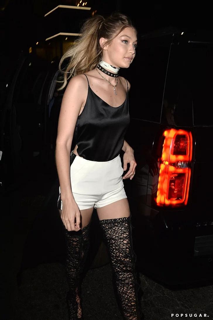 Gigi Hadid 21st Birthday Outfit Popsugar Fashion