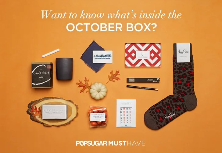 Subscription Box October 2014 from PopSugar must have
