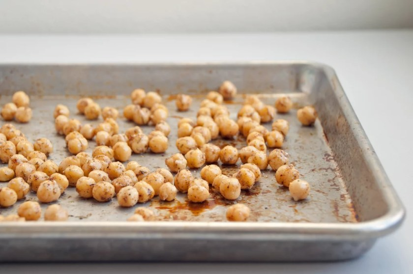 Eat a bag of roasted chickpeas