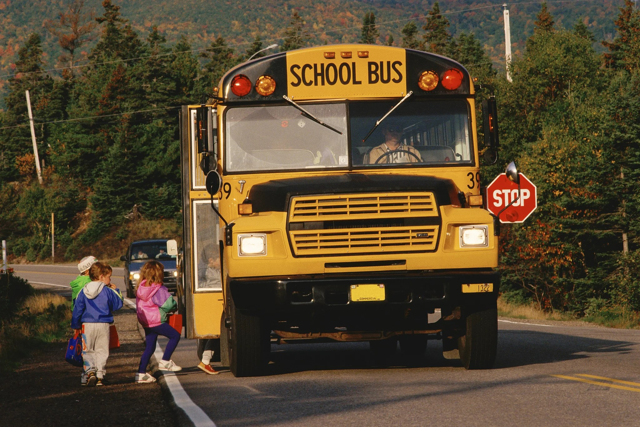 Child Gets In Trouble For Reading On School Bus