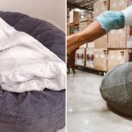 Costco Is Selling Massive Bean Bag Chairs In Multiple Colours Popsugar Home Uk