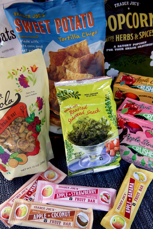 gluten free snacks from trader joe s