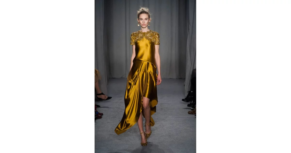 Marchesa Fall 2014 What Do You Get When You Cross A Wood