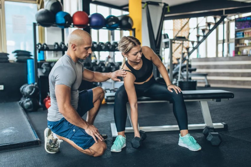 How To Start Working Out At The Gym Popsugar Fitness