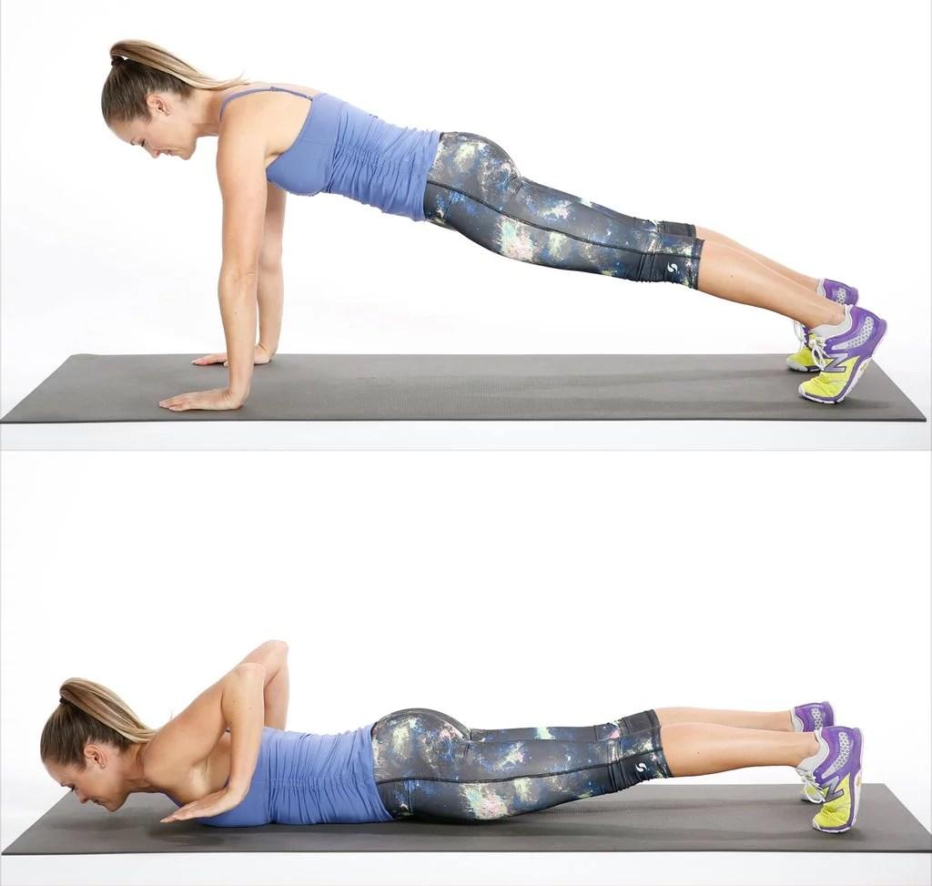 Week 4 Exercise 1 Negative Push Ups