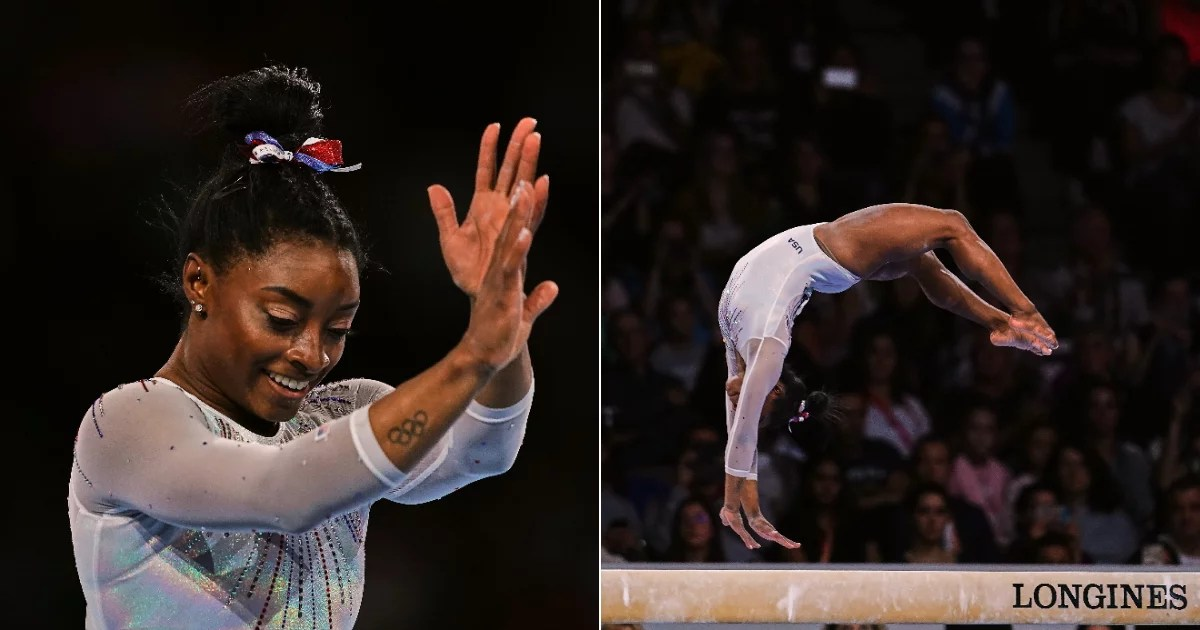 Watch Some of Simone Biles's Best Gymnastics Routines of All Time  Because She's Greatness