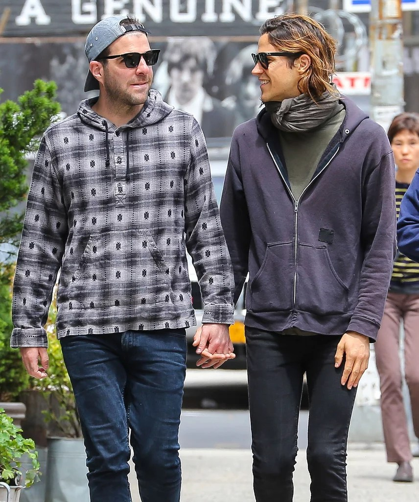 Zachary Quinto And Miles McMillan Holding Hands In NYC POPSUGAR Celebrity Photo 4