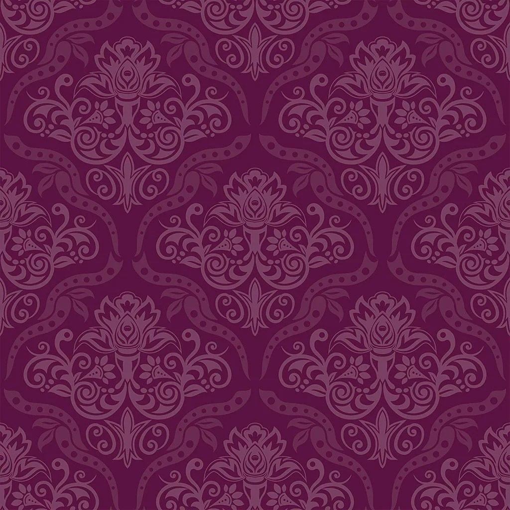 Wallsbyme Peel And Stick Purple Damask Basic Fabric Removable Wallpaper Best Wallpaper On Amazon Popsugar Home Uk Photo 14