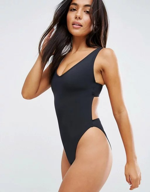 High-Leg One-Pieces