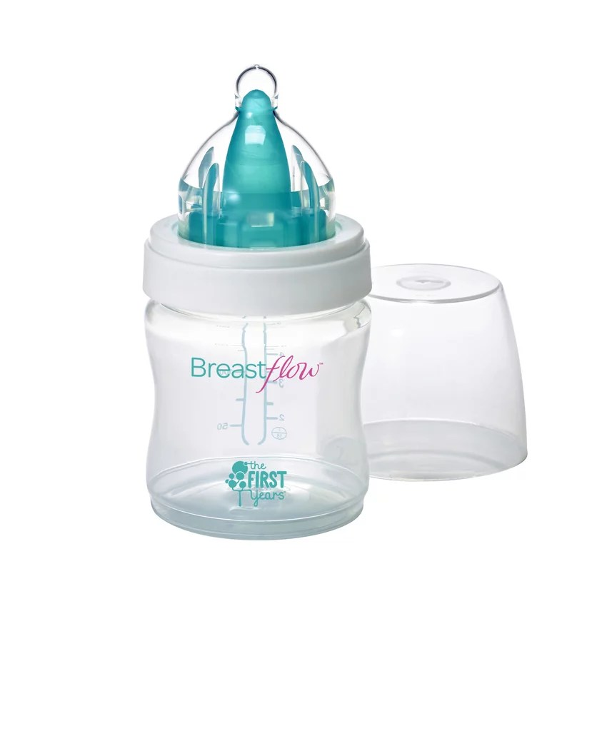 The First Years Breastflow Bottle