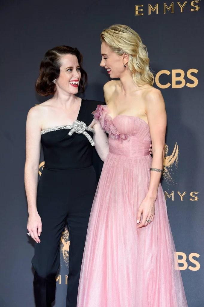 The Crown Cast at the 2017 Emmys | POPSUGAR Celebrity