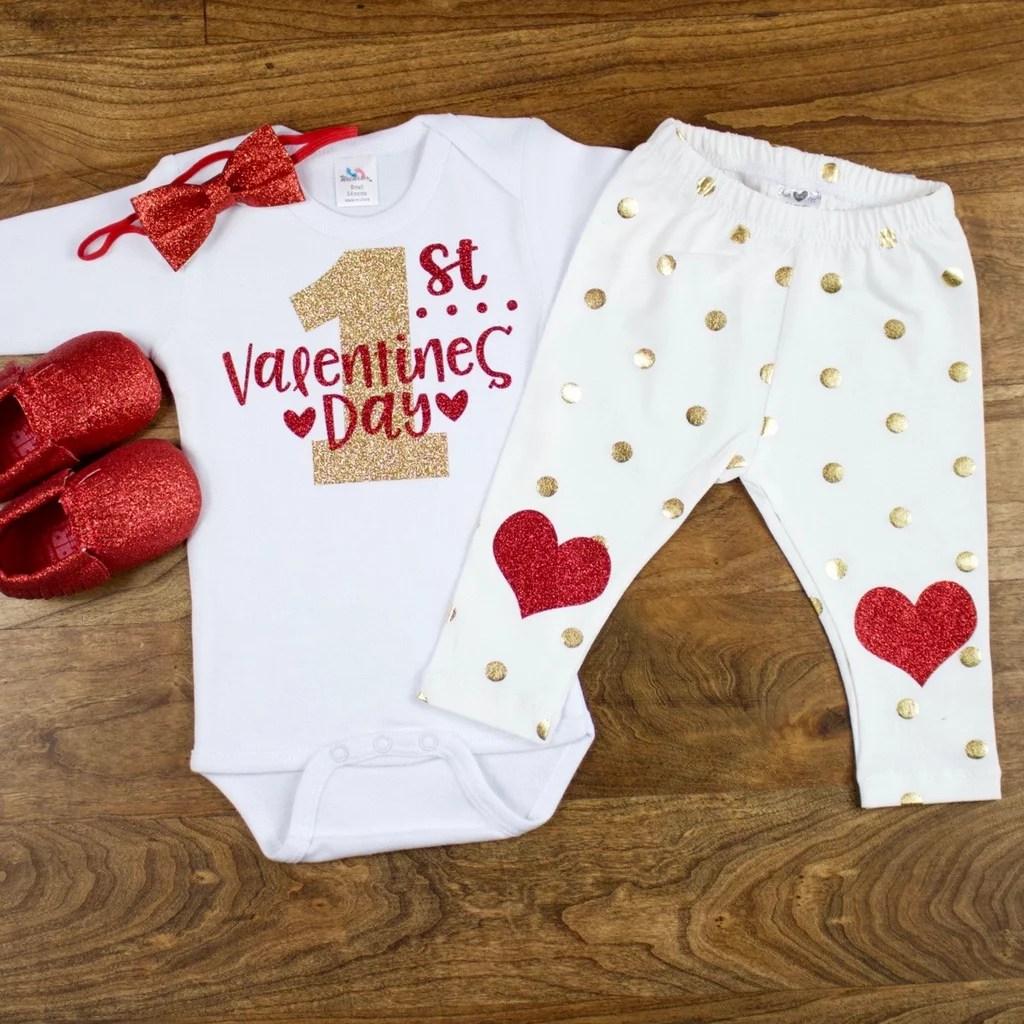 Valentines Day Onesies POPSUGAR Moms