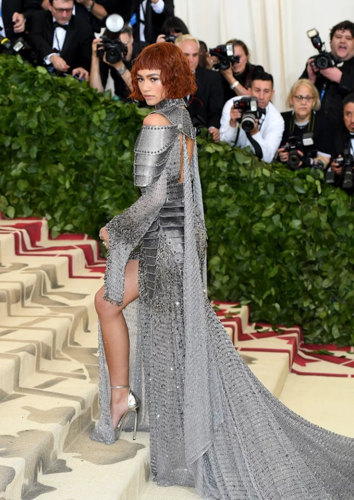 Image result for zendaya met gala 2018