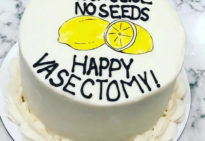 Vasectomy Cake Ideas Popsugar Family