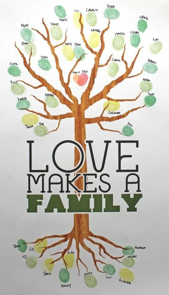 family tree clipart  qa everyone has two family trees a genealogical     modern family tree ideas popsugar moms