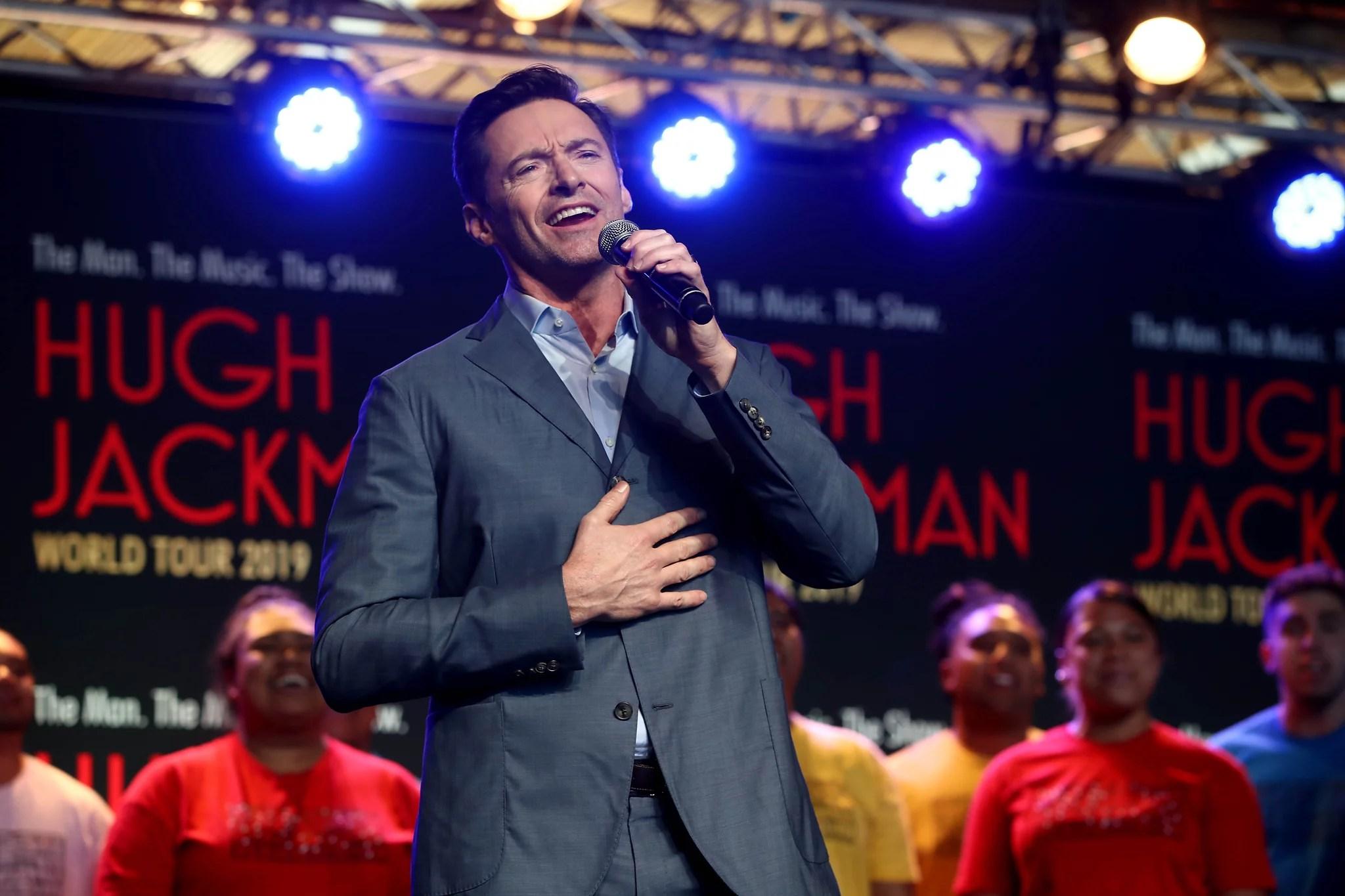 Hugh Jackman Starring In Broadway Revival Of The Music Man POPSUGAR Australia Entertainment