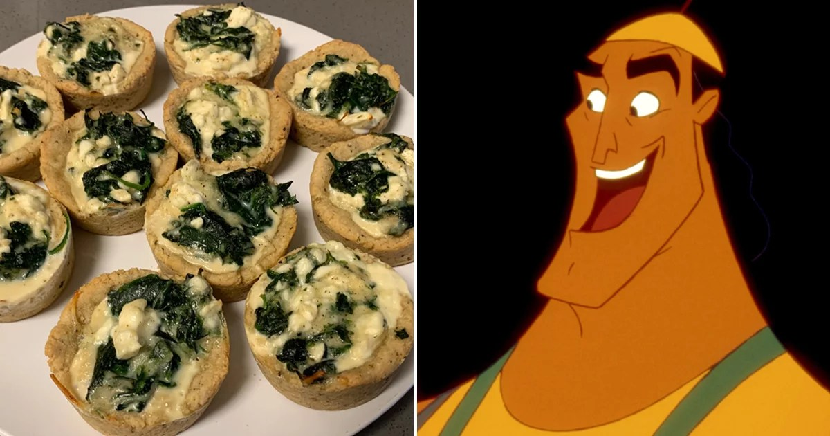 These Simple Spinach Puffs Inspired By The Emperor's New Groove Are Kronk's Dream Come True