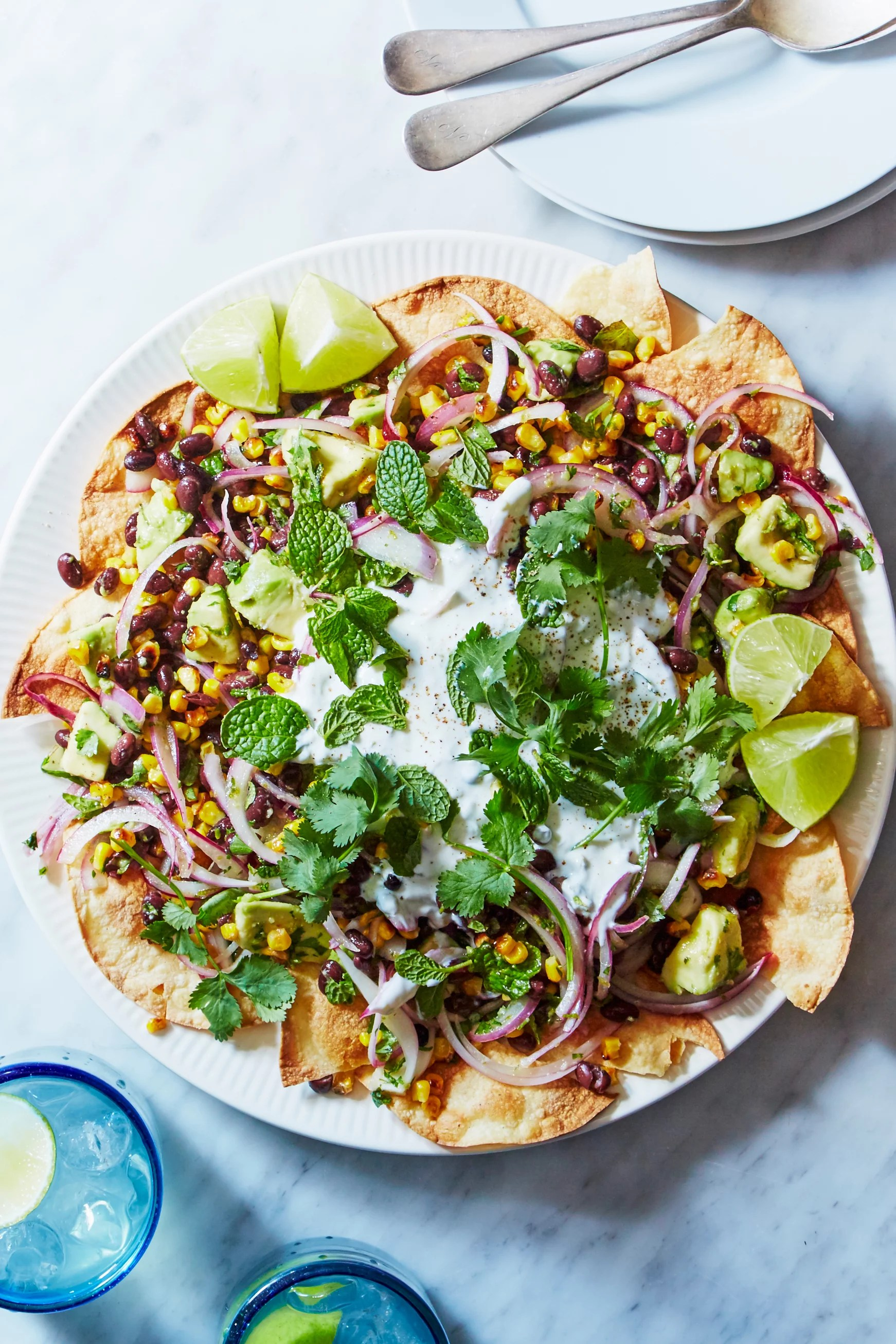 Healthy Nachos Recipe From Martha Stewart Popsugar Food