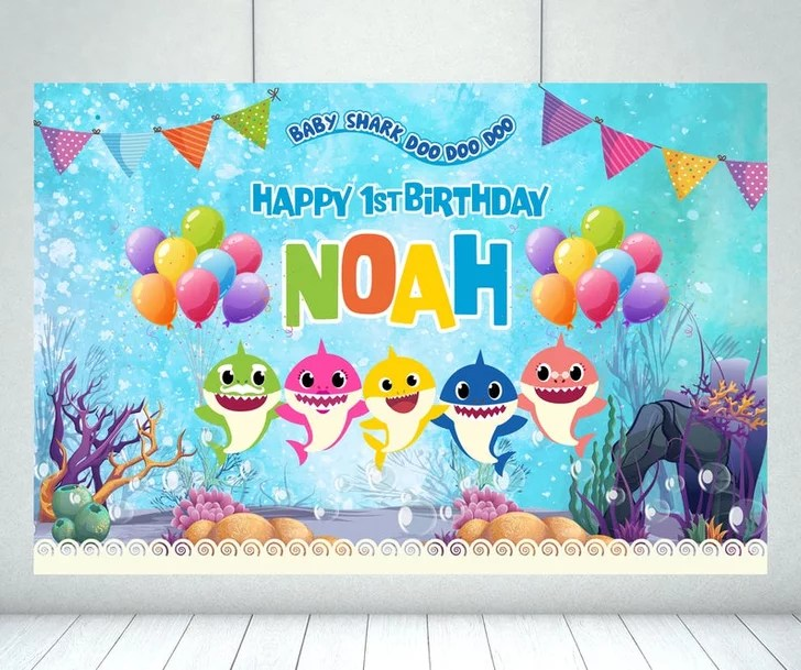 baby shark party supplies for kid
