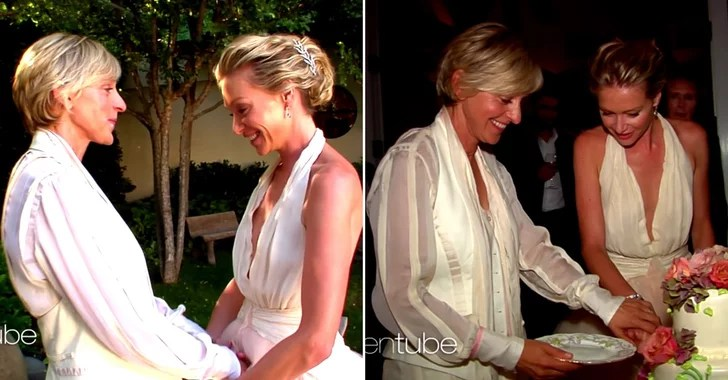 Ellen DeGeneres And Portia De Rossi's Anniversary Video