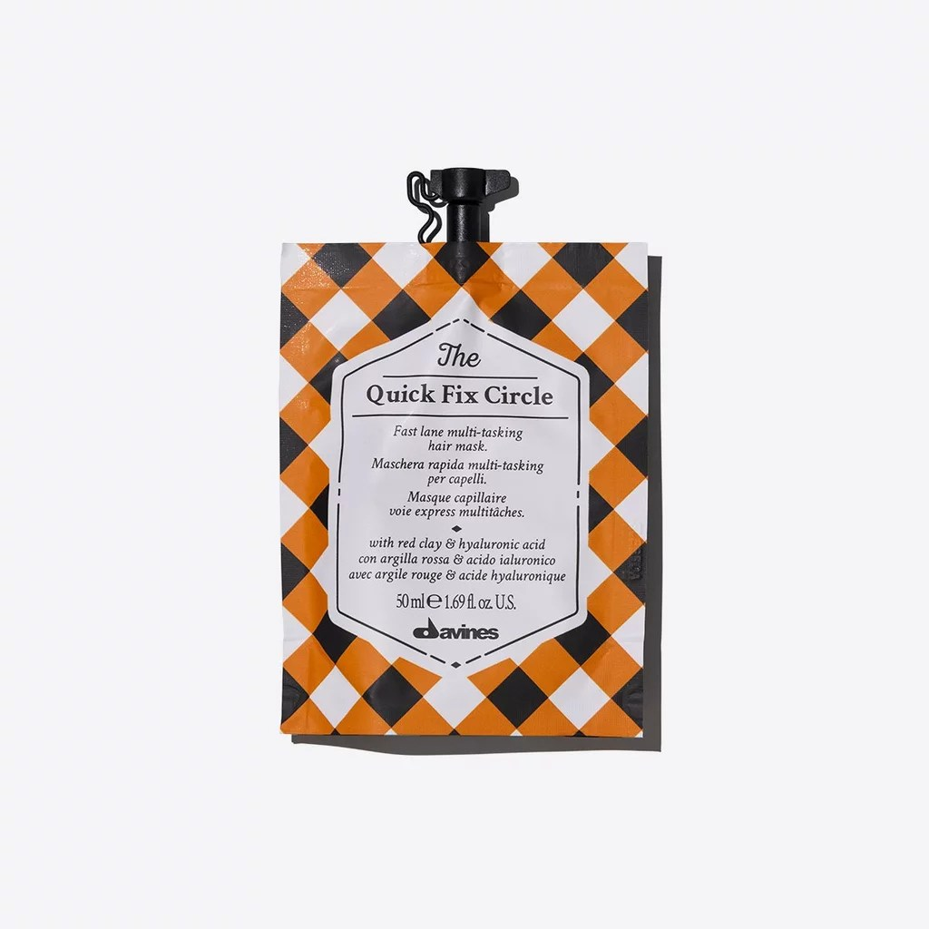 For Dry, Damaged Hair: Davines Quick Fix Circle Mask