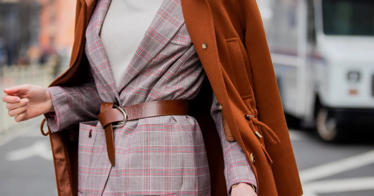 Belts Are Having a Big Moment Right Now; Here's How to Wear One Like a Street Style Star