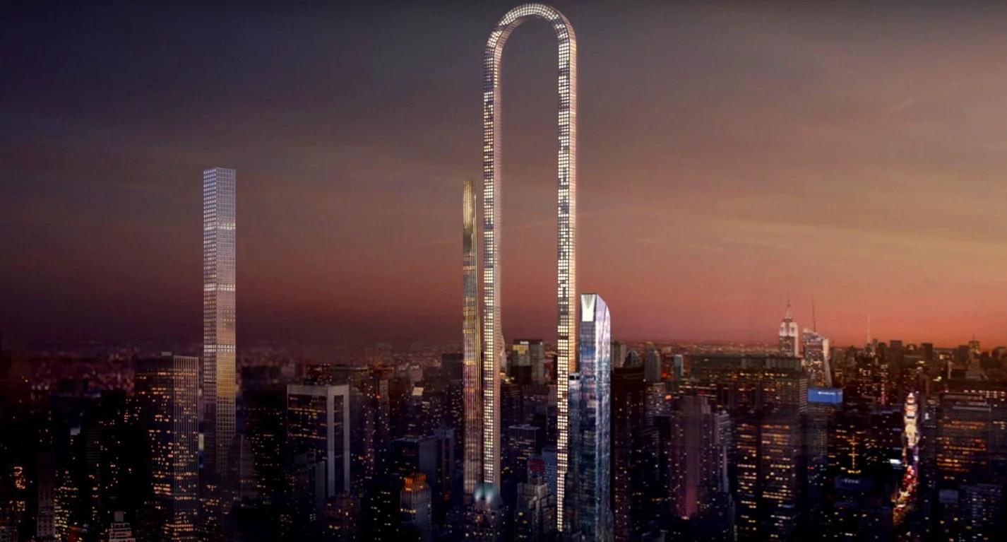 New York Big Bend Challenges Dubai To World S Tallest Tower Popsugar Middle East Smart Living