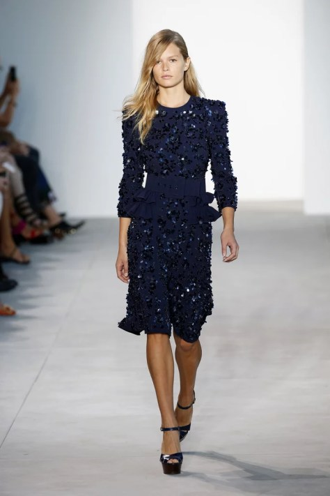 The Michael Kors Collection show went down at New York Fashion Week on Sept. 14.