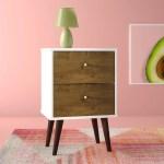 Allegra 2 Drawer Nightstand Best Bedroom Furniture From Wayfair Popsugar Home Australia Photo 8
